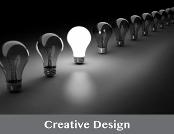 Brick47 offers extensive graphic and creative design services. Let us know your vision - we'll handle the rest.